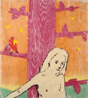 12 Seductive fictions: Enrique Martinez Celaya: PRUE GIBSON    Enrique Martinez Celaya, Shine , from  The Shine and The Storm Suite , 2009, colour woodcut on archival Thai mulberry paper, 99.1 x 86.4cm. image courtesy the artist and Liverpool Street Gallery, Sydney