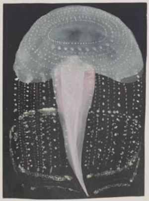 1 Out of Australia: Prints and Drawings from Sidney Nolan to Rover Thomas: LAURA GASCOIGNE   Peter S. Graham,  Untitled (Jelly fish drawing III) , 1999. Image courtesy the artist and the British Museum, London