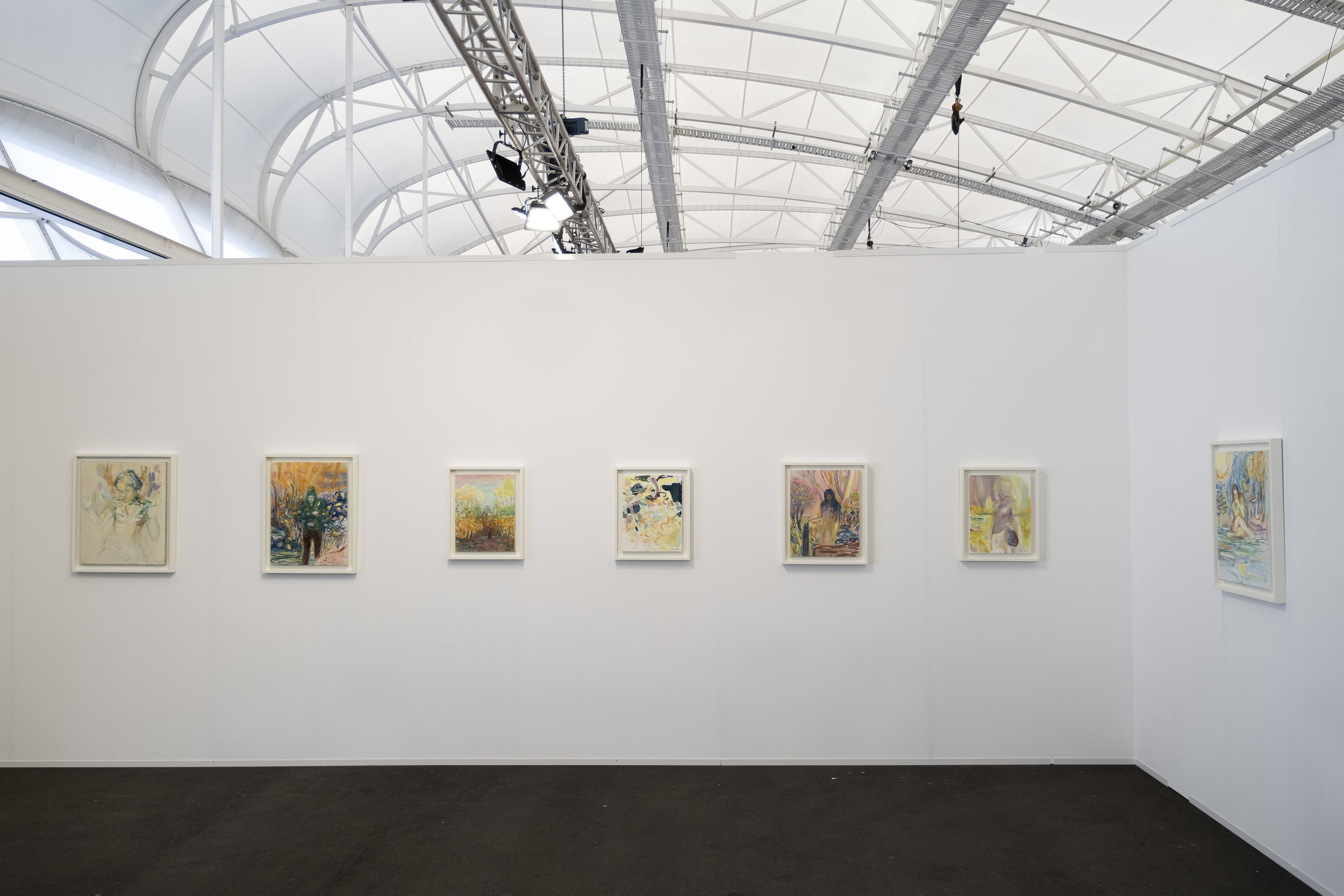 Auckland Art Fair 2019 , installation view, The Cloud, Auckland, May 2019, featuring the work of Séraphine Pick; image courtesy Michael Lett, Auckland; photo: Josef Scott