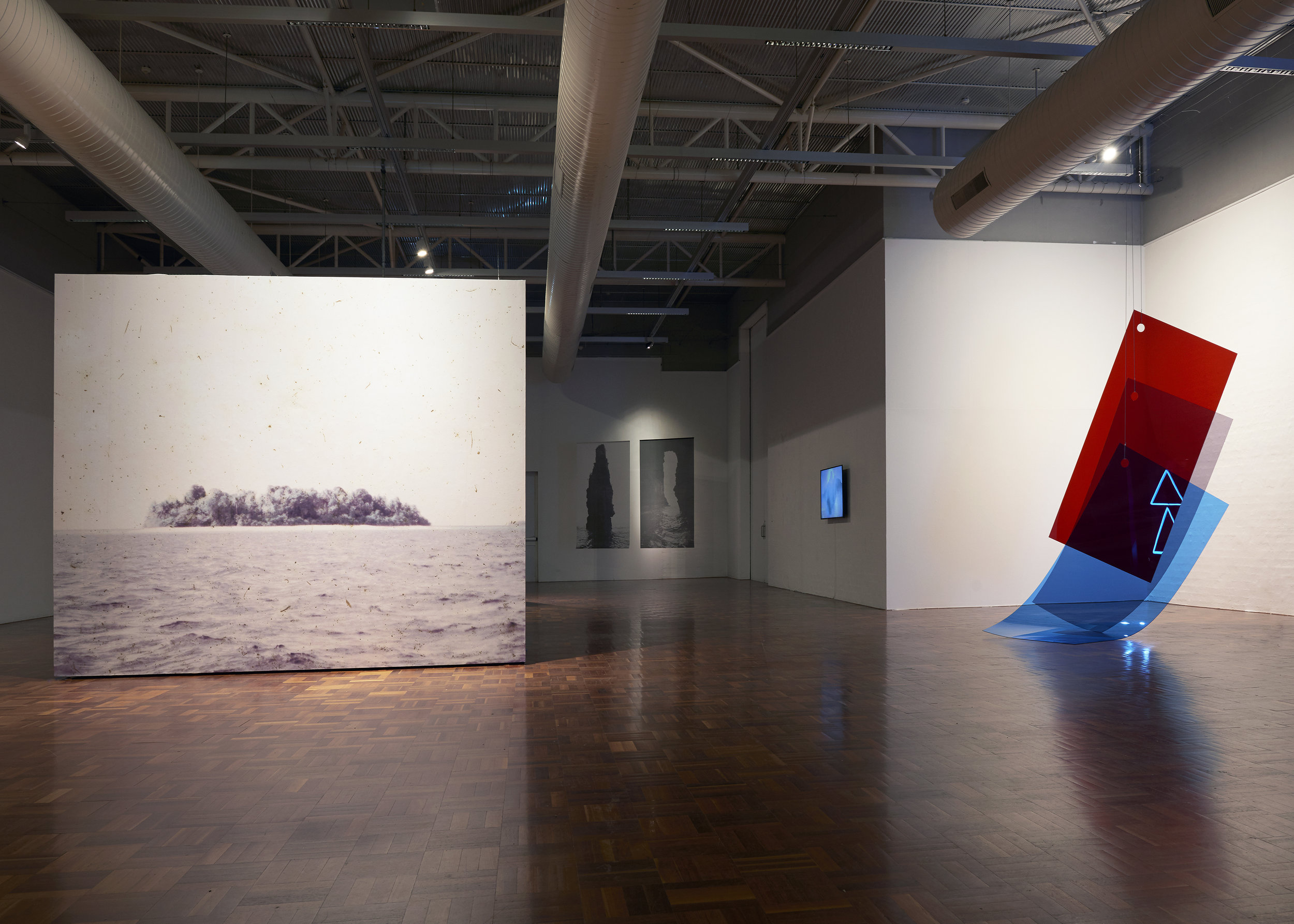 Vanishing Point , exhibition installation view, ANU School of Art & Design Gallery, Canberra, 16 May – 14 June 2019; photo: Ellen Dahl
