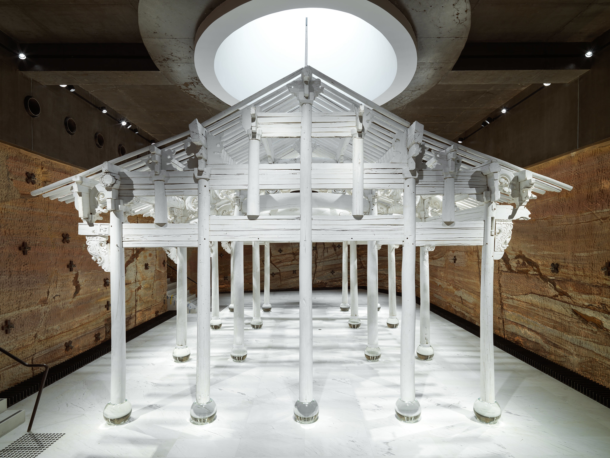 Ai Weiwei,  White House , 2015, installation view, Museum of Old and New Art (MONA), Hobart, 2019; image courtesy MONA, Hobart; photo: MONA/Jesse Hunniford