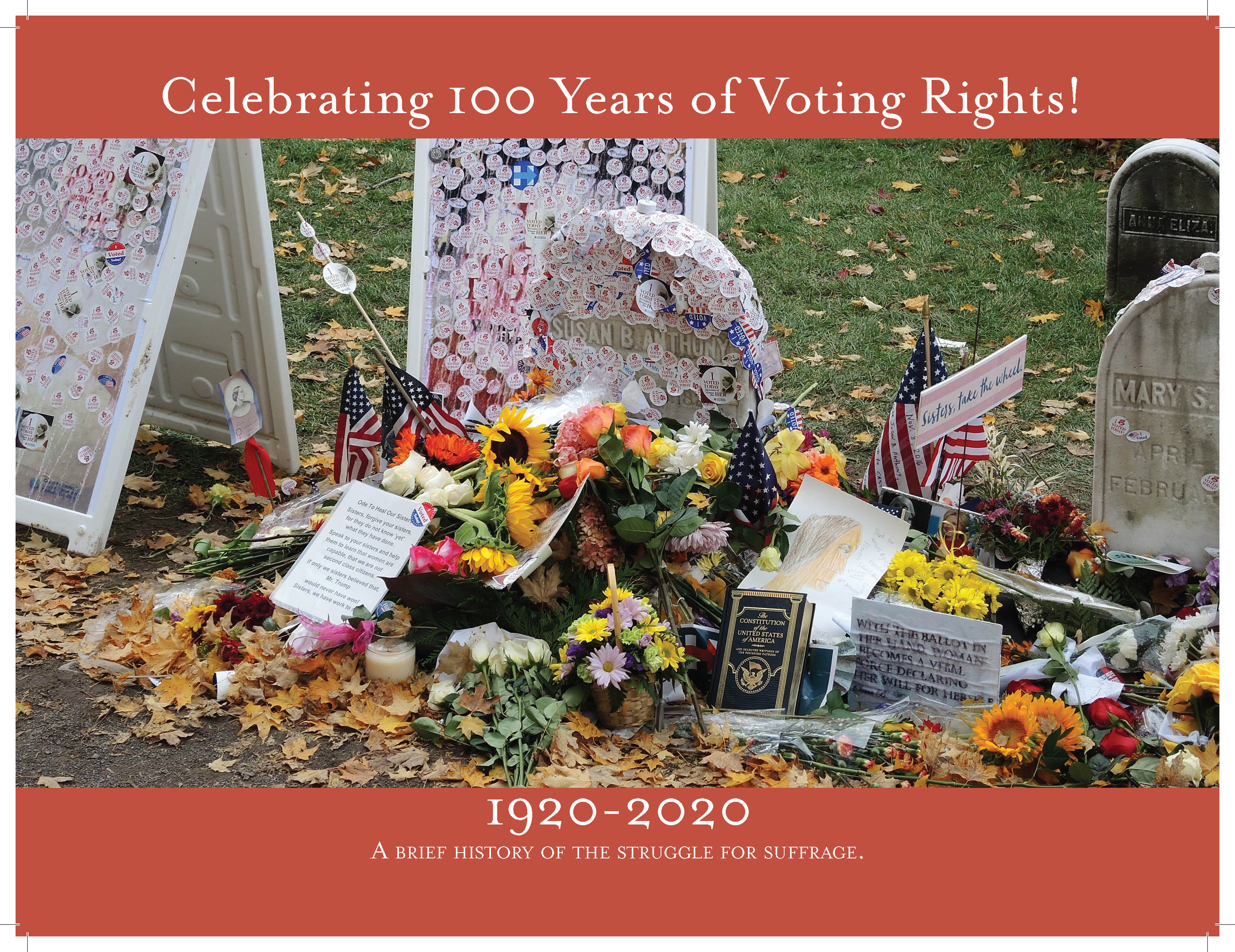 Pre-order your 2020 LWVBWC Centennial Calendar today! -