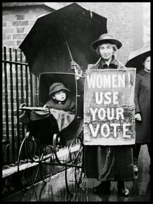 The League was founded to help women use their vote