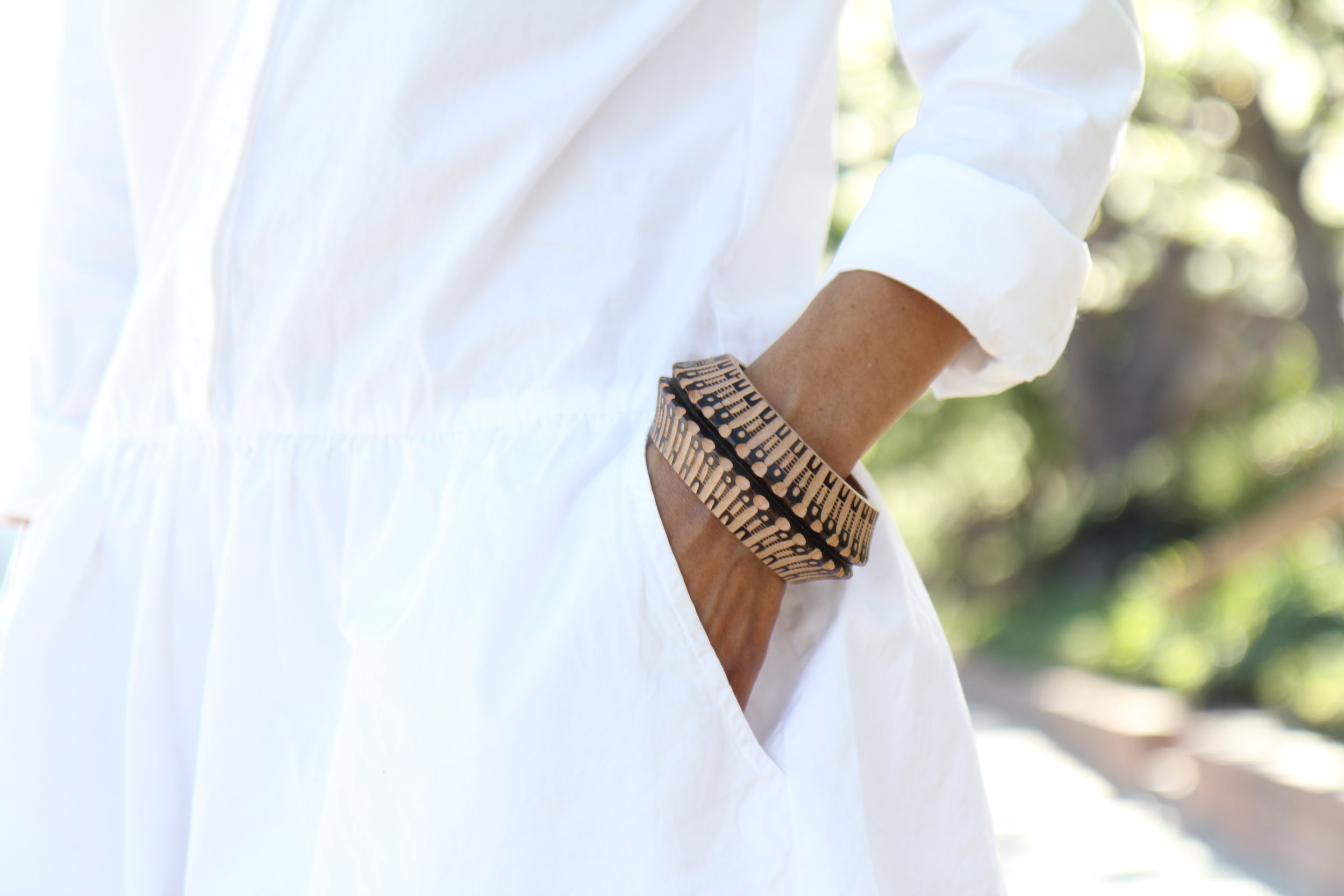 A classic Fernández bracelet inspired by a traditional Mexican molinillo. (Hermosa Journal)