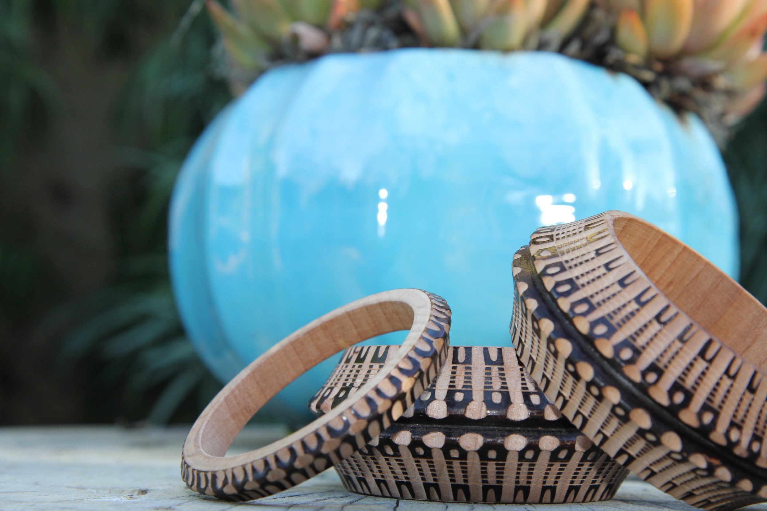 The bracelets come in various sizes and there is a new color per season. (Hermosa Journal)