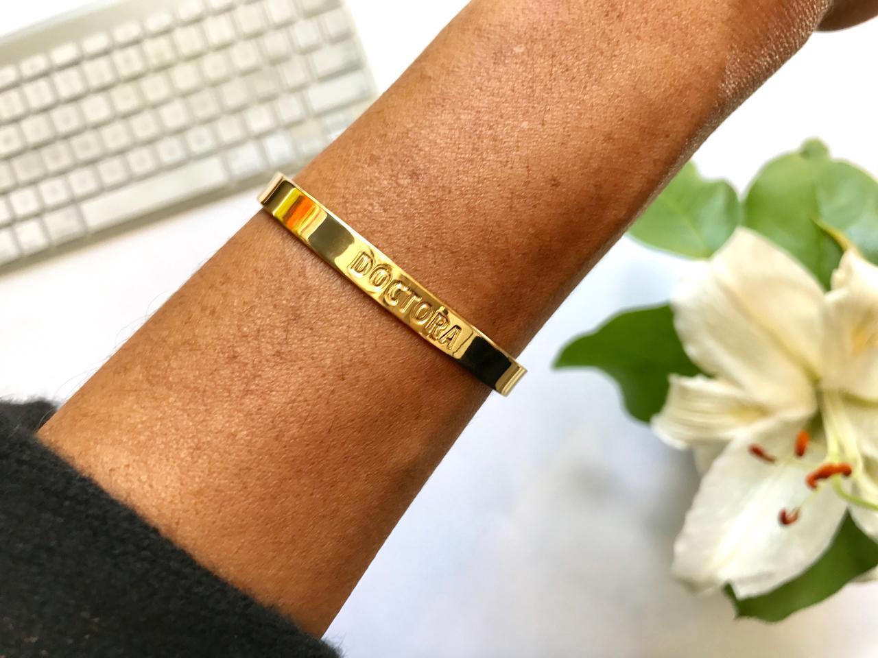 A cuff by Doctora Designs. (Credit: Hermosa Journal)