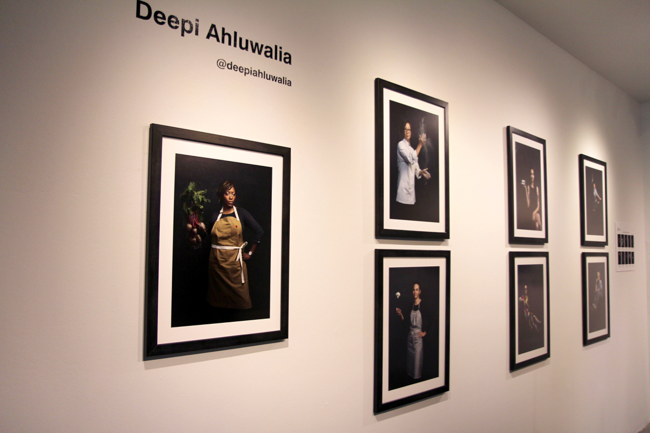 Gallery photo of the  Doyennes of Photography in LA  exhibit featuring diverse female photographers.  Doyennes  was curated by Jigisha Bouverat and Kristina Hicks at  Castelli Art Space  and was a part of the MOPLA calendar (Credit: Hermosa Journal)