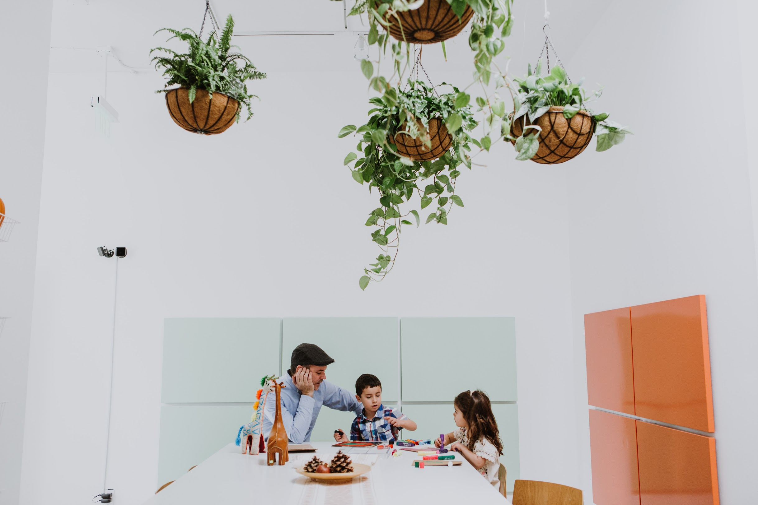 A family exploring Chiqui Social's kitchen space. Photo Credit: Chiqui Social