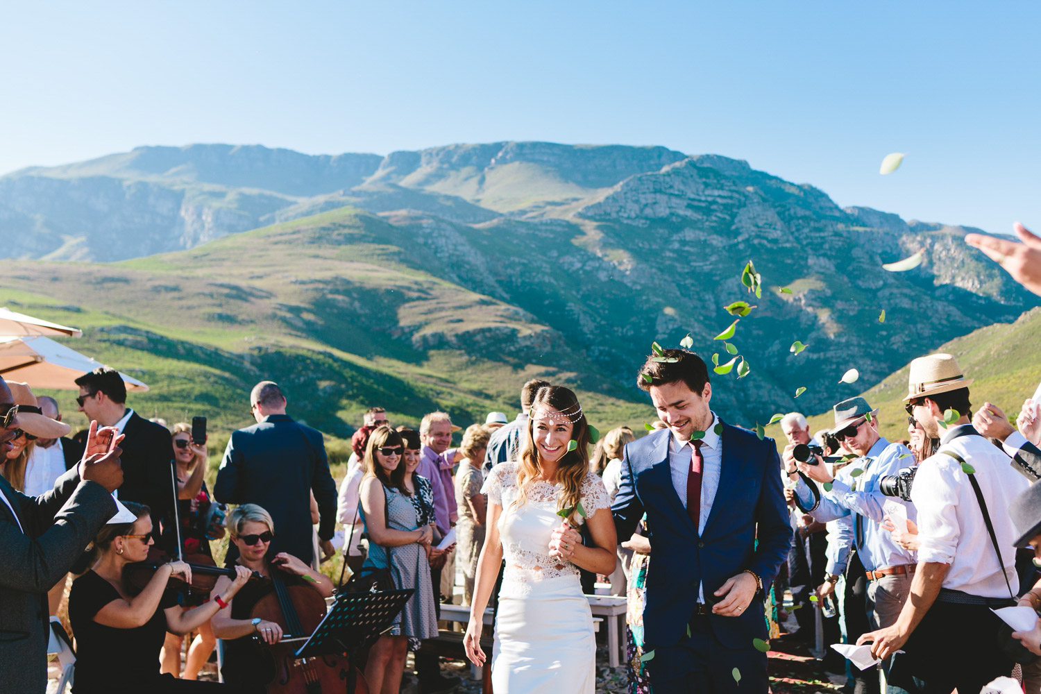 Greyton wedding Western Cape Photographer riverbed proteas south african