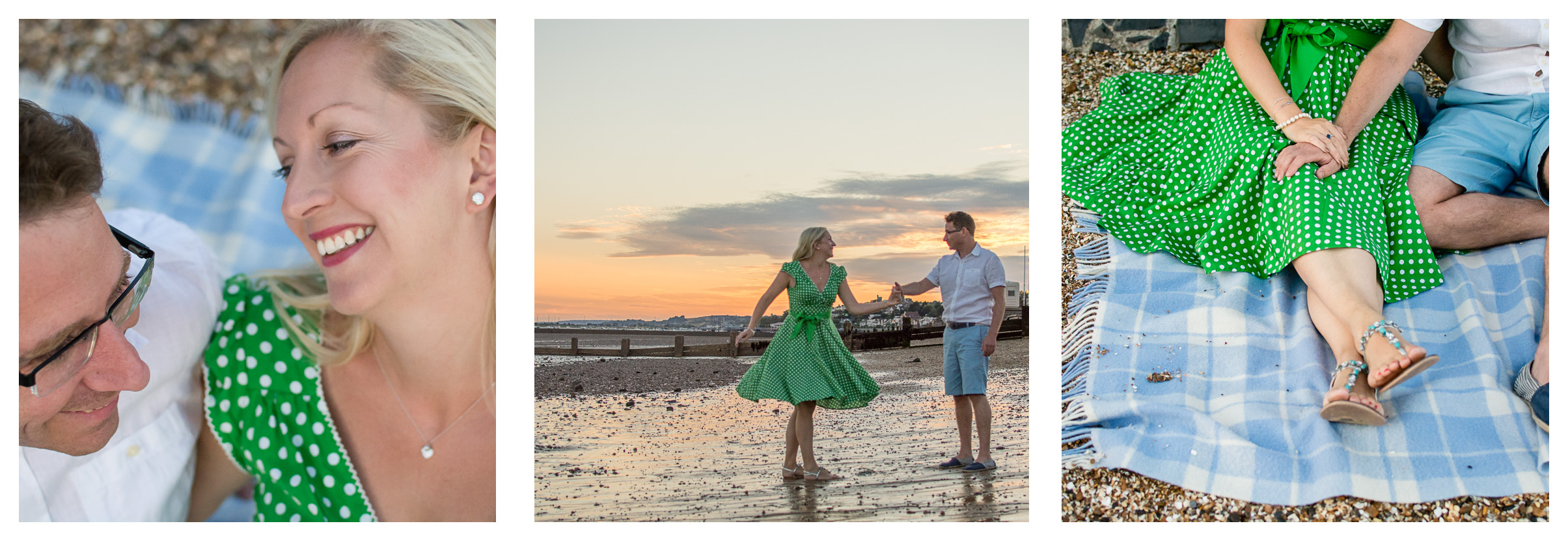 """We used Charlotte for our engagement shoot on the beach and was really pleased with the photos she took. She made us feel really comfortable while making us laugh and smile, which meant she gained some lovely natural photographs. We had a really enjoyable evening. Would highly recommend and wouldn't hesitate in using her again"" Chris Rees     ""We were very pleased with our engagement shoot with Charlotte, she was amazing. She made the whole experience so relaxing and allowed us to be ourselves and capture our special moment together. We will cherish these photos for the whole of our lives. Thank you Charlotte for a magical evening."" RebeccaMarston"
