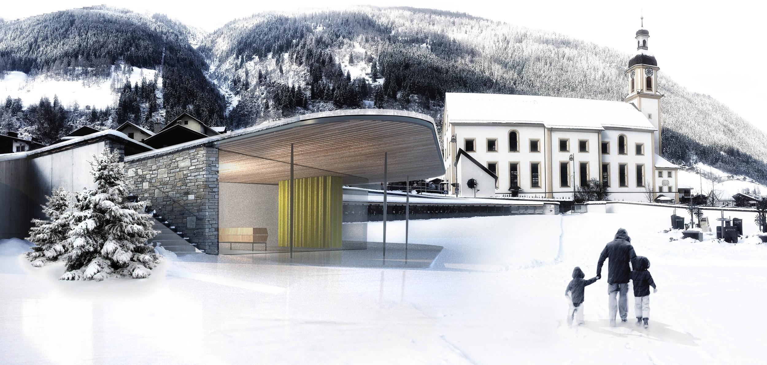 Vorschlag und Visualisierung / Architekt Köberl & Kröss