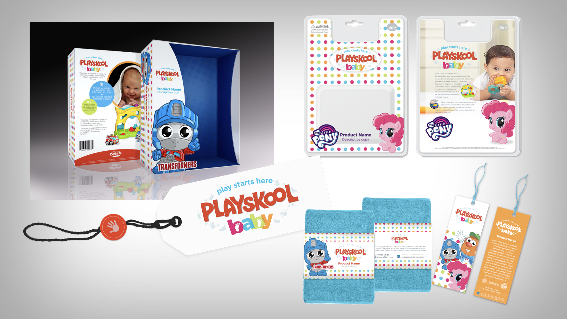 The Equinox Group worked with our friends at Hasbro to develop a baby brand extension to Playskool. The products launched in the UK in 2018.