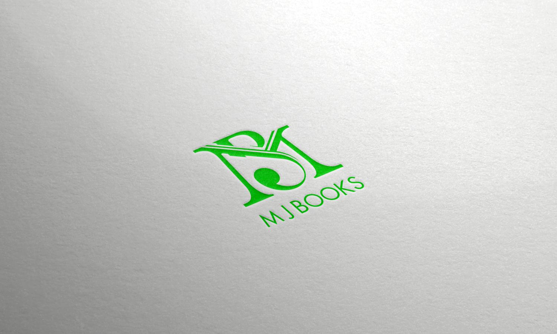 Monogram designed for M J Books.