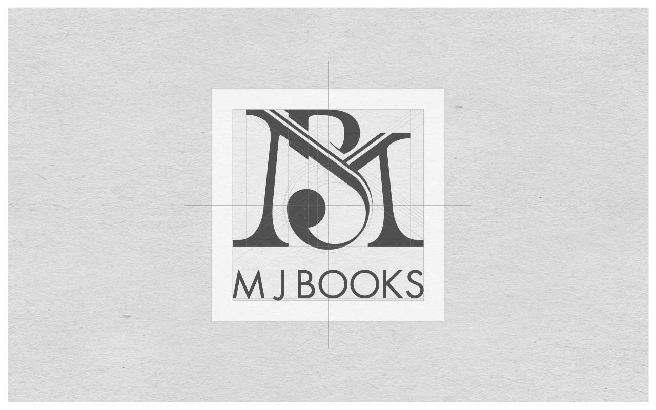 Final monogram design forM J Books.