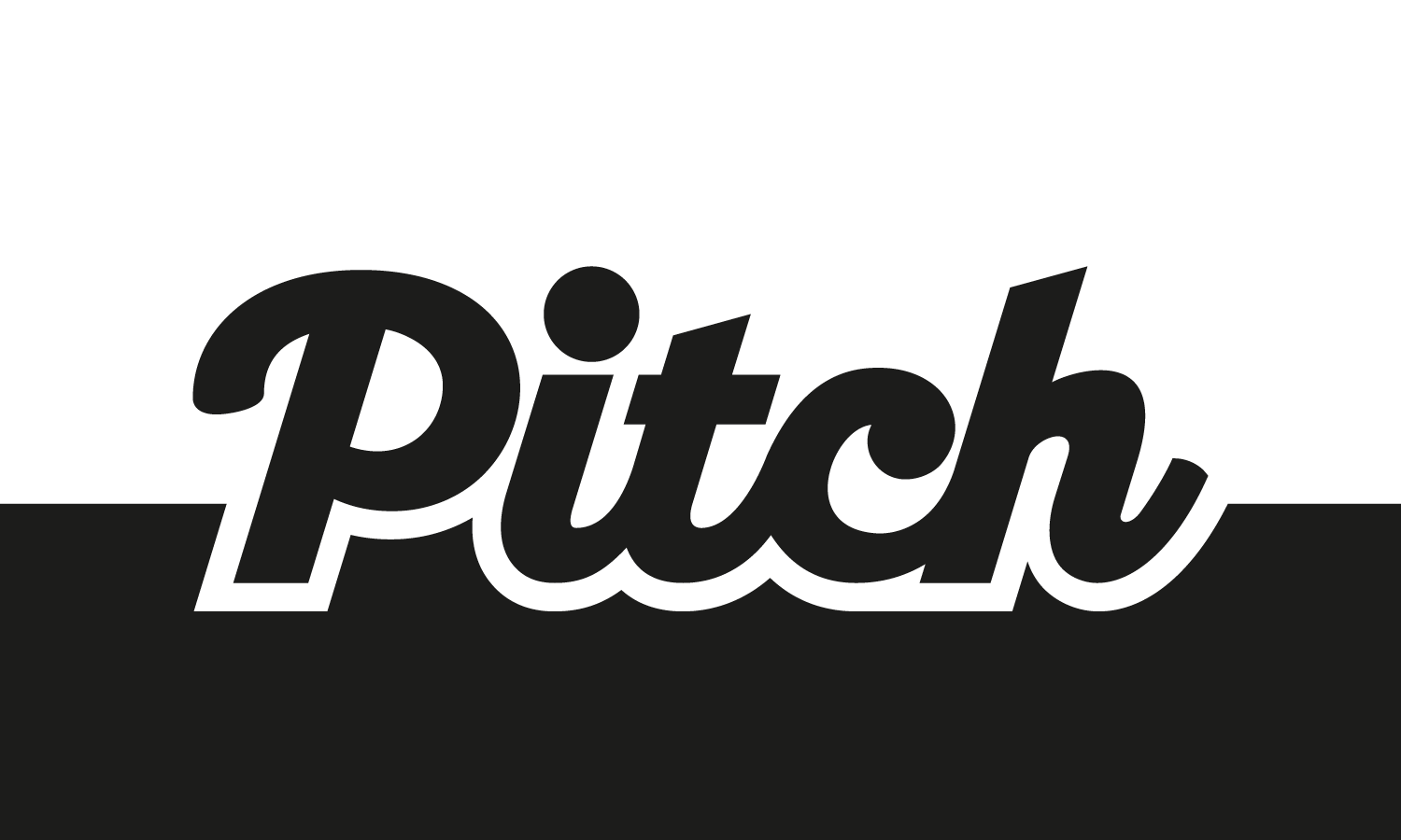 the Pitch Fanzine logo in black and white.