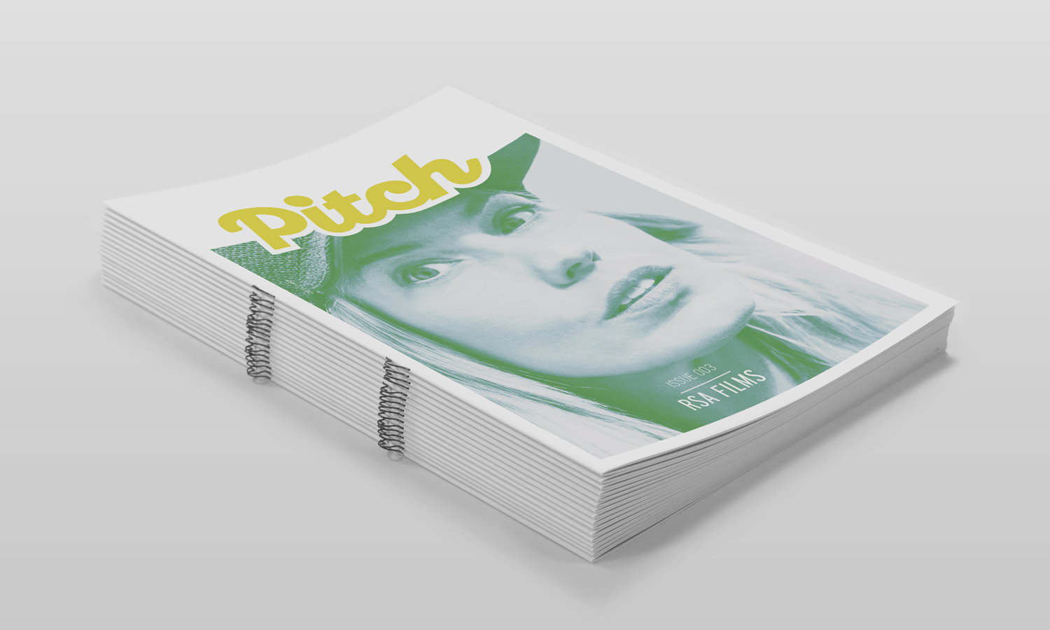 The Pitch fanzine advertising industry magazine RSA Films Issue