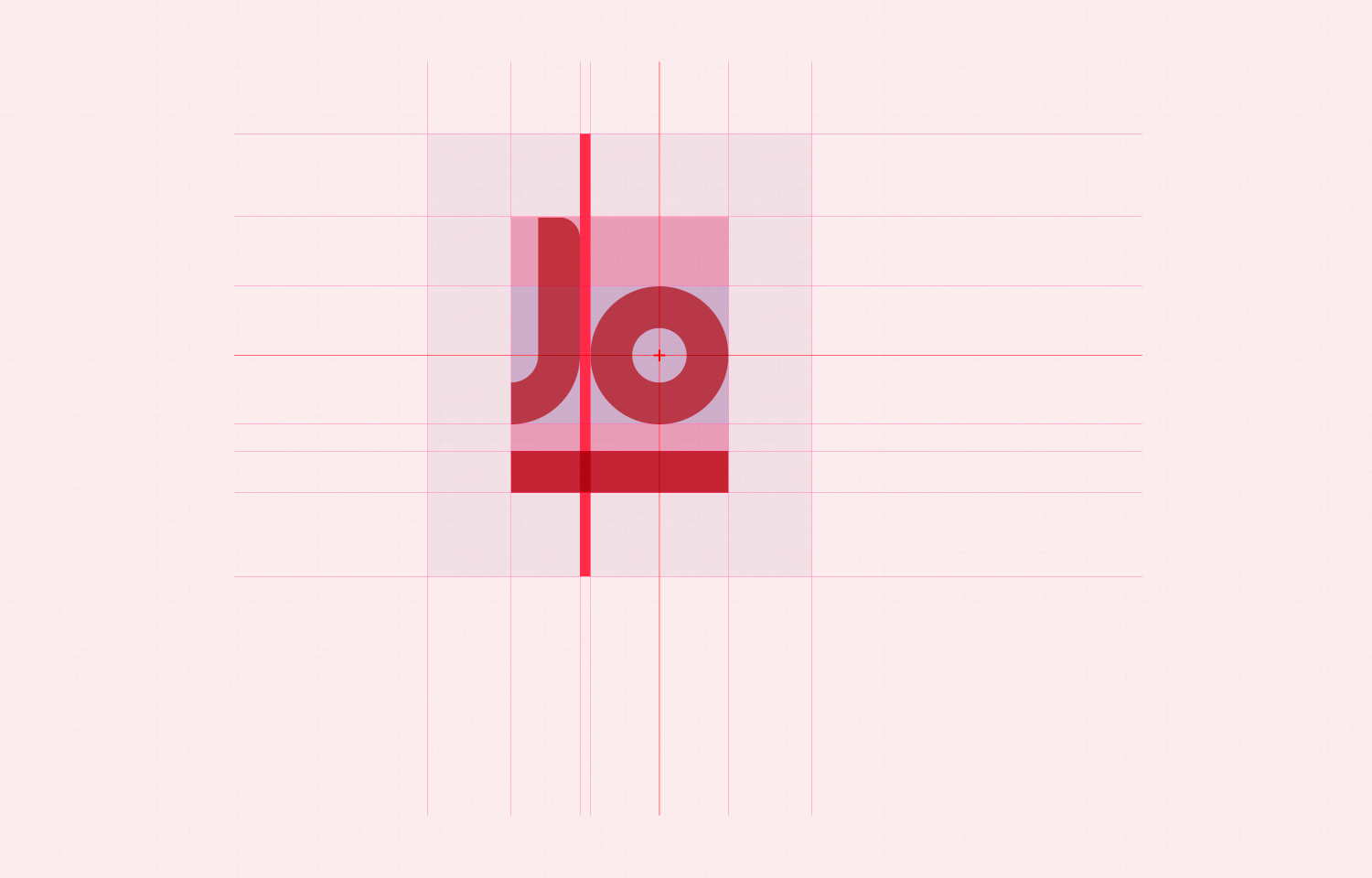 Jo Paul logo layout with guidelines 01.