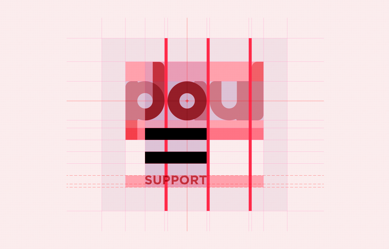 Jo Paul logo layout with guidelines 03.