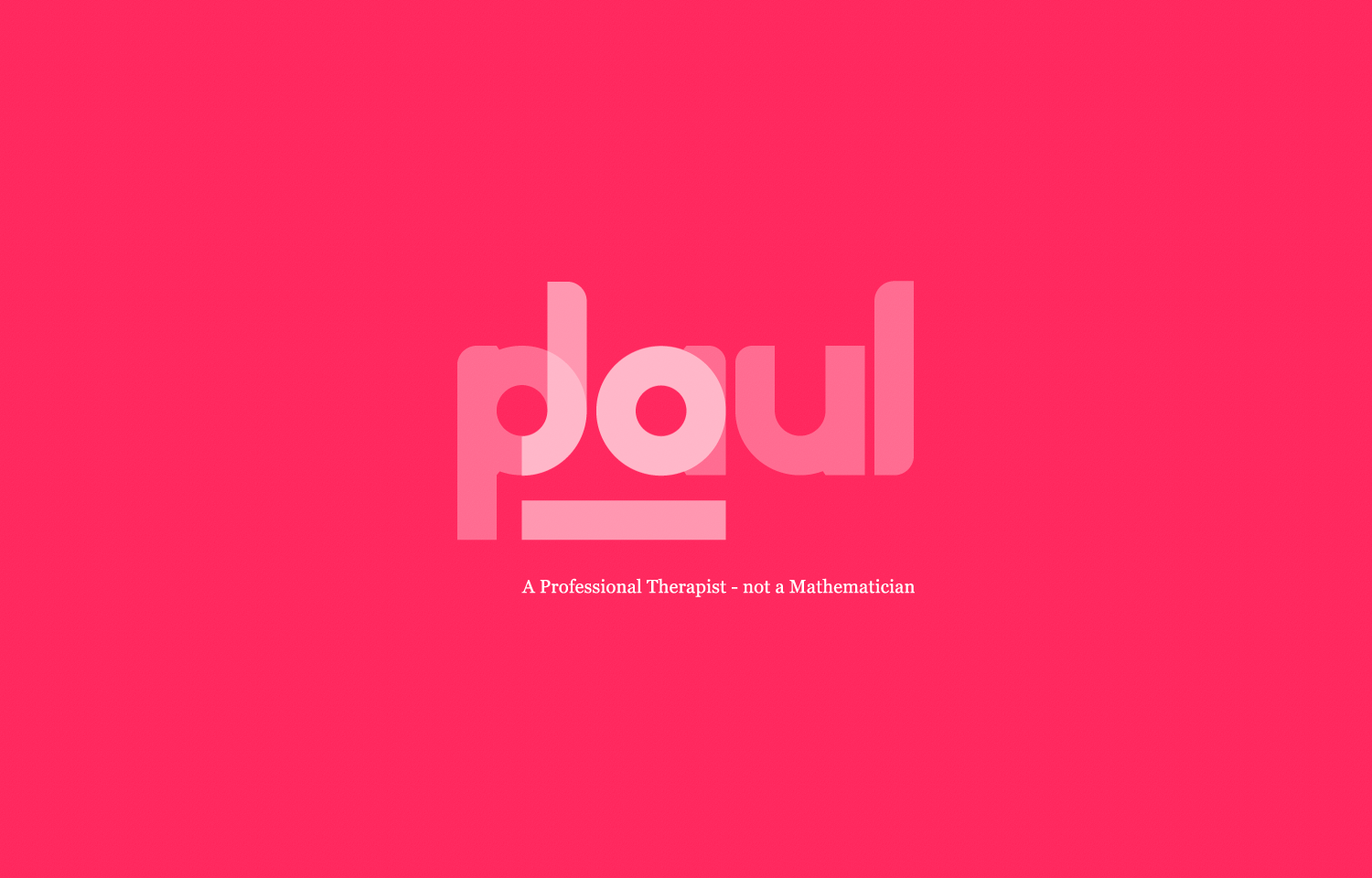 Logo design for registered professional and creative therapist, Jo Paul.