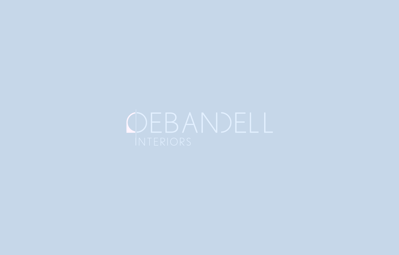 Logo design and branding for Debandell Interiors.