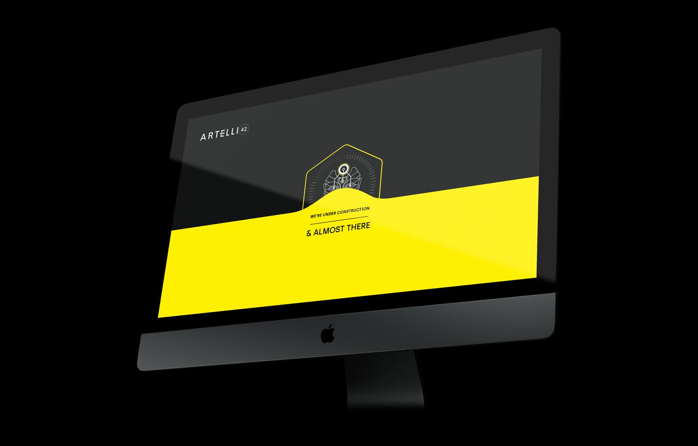 Artelli42 Web design project