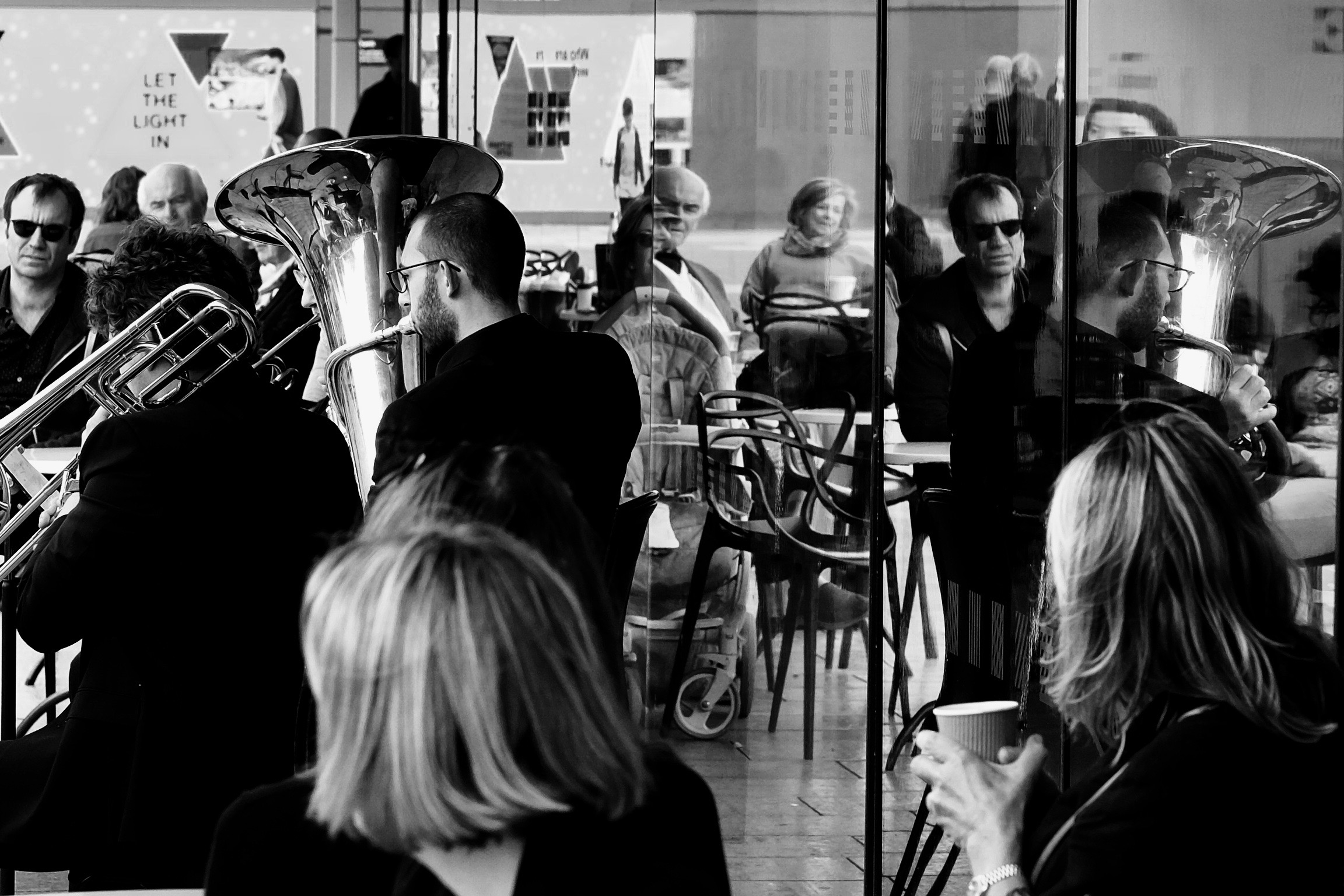 BRASS WALK WITH LONDON SINFONIETTA, Nordic Music Days, SBC London,30 September 2017, Photo: Paola Padoan