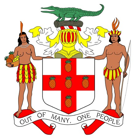 Jamaica's coat of arms