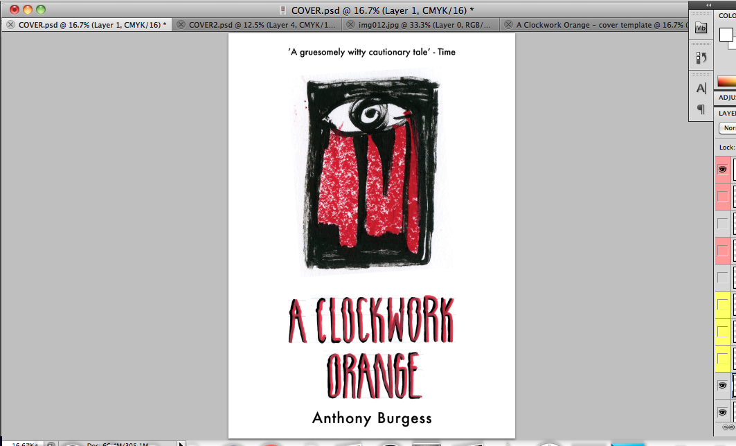 A Clockwork Orange cover design