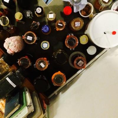 Jars - overhead