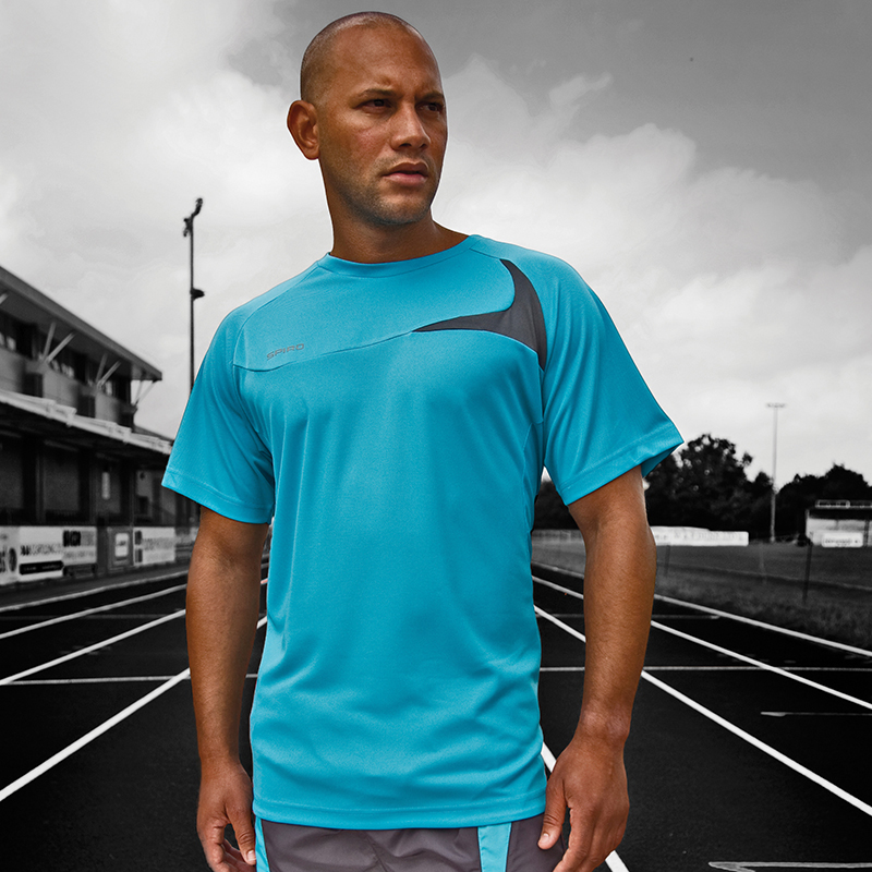 Spiro sportswear mens performance clothing