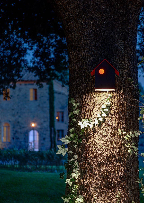 Vogelhuisjeslamp