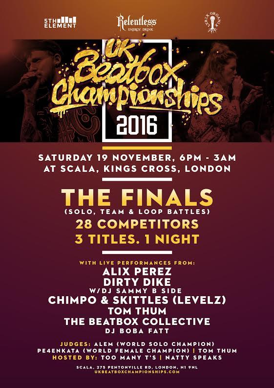 Beatbox Champs 2016