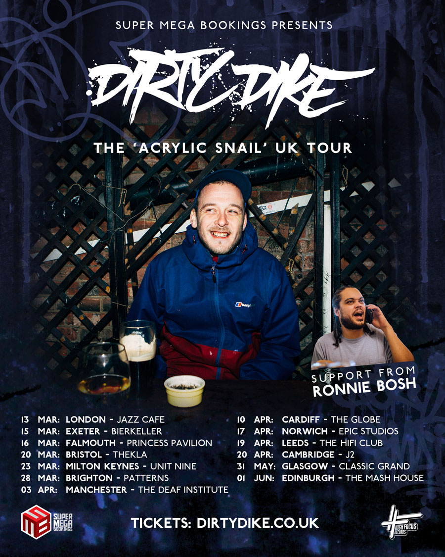Dirty DIke UK Tour 2019