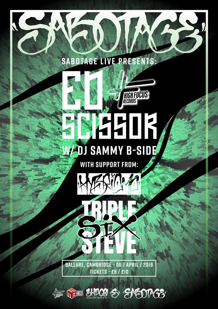 ED Scissor Cambridge