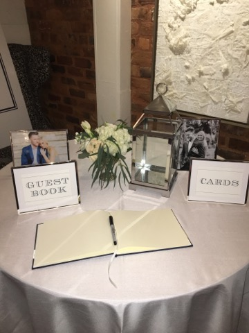 Gift/Sign-in Table
