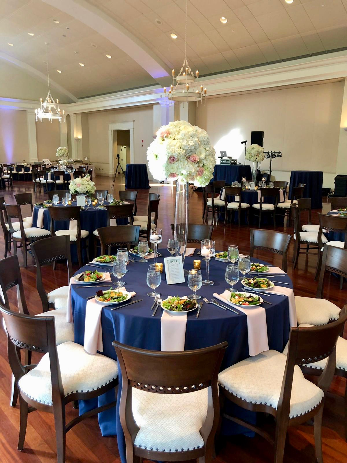 Reception Venue:  The Atlanta History Center  Catering by  Low Country Catering  Flowers by  On Occasions of Atlanta  Linens by  BBJ Linens