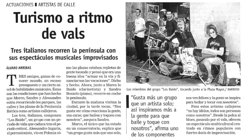"""Gaceta de Salamanca"", agosto 2005"