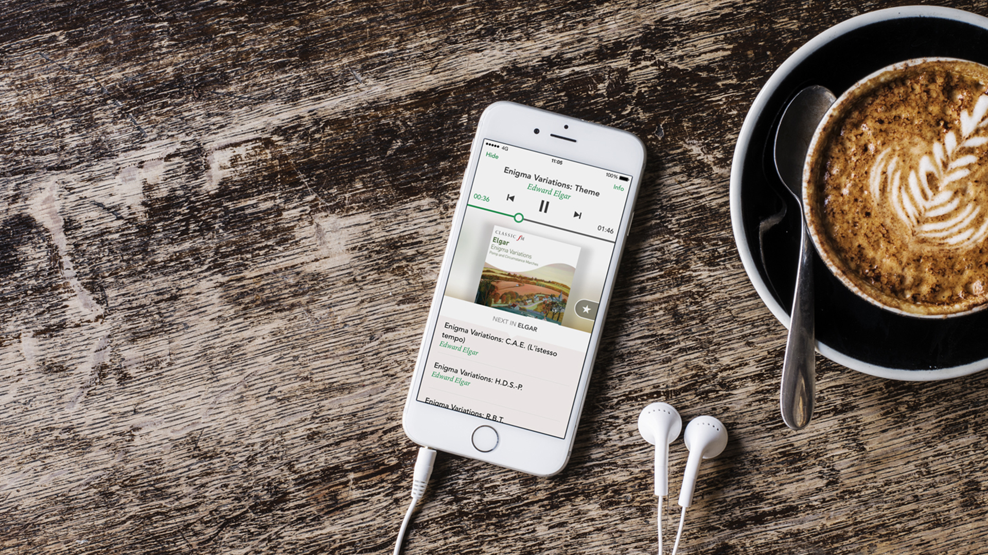 Universal Music  Brand strategy for Composed, the classical music streaming app →
