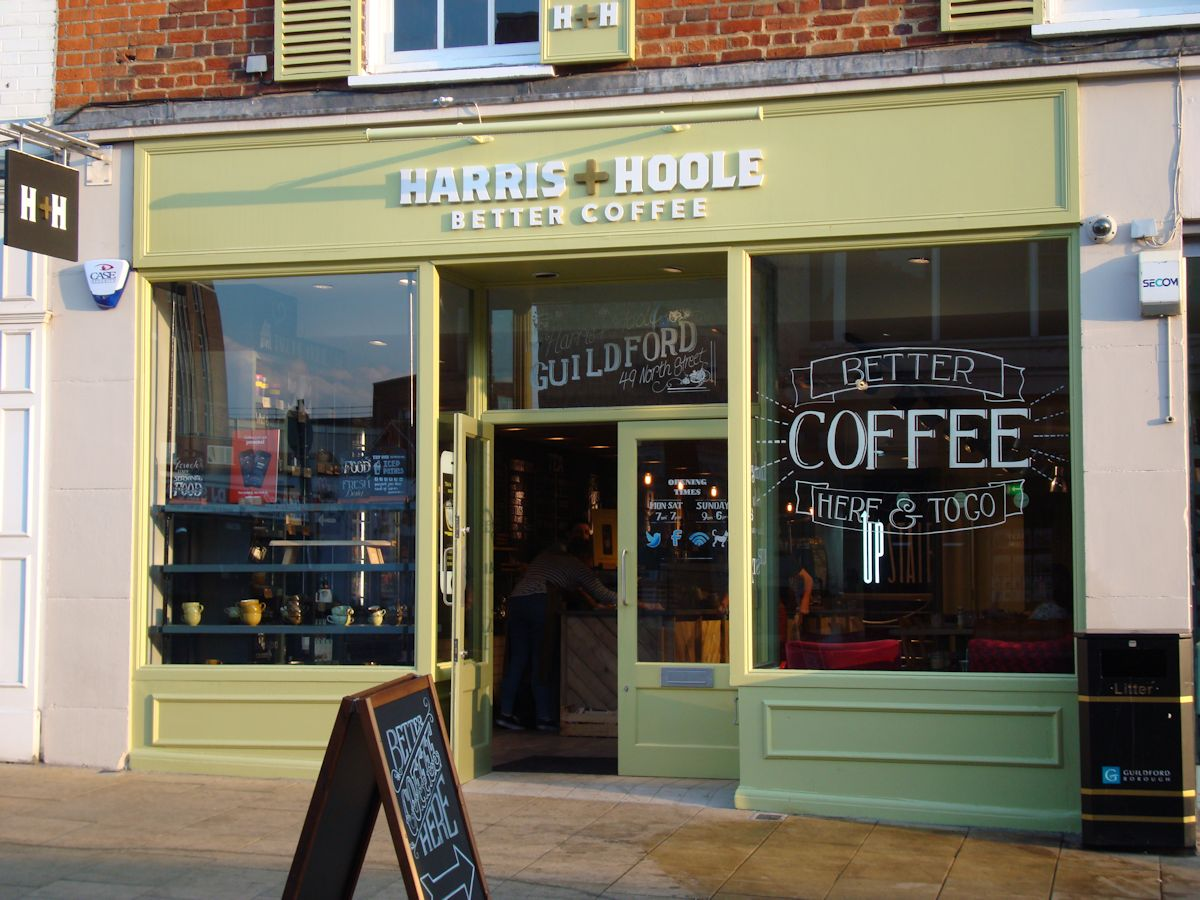 Harris + Hoole launched with a 49% investment from Tesco. Photo: www.keithpp.wordpress.com
