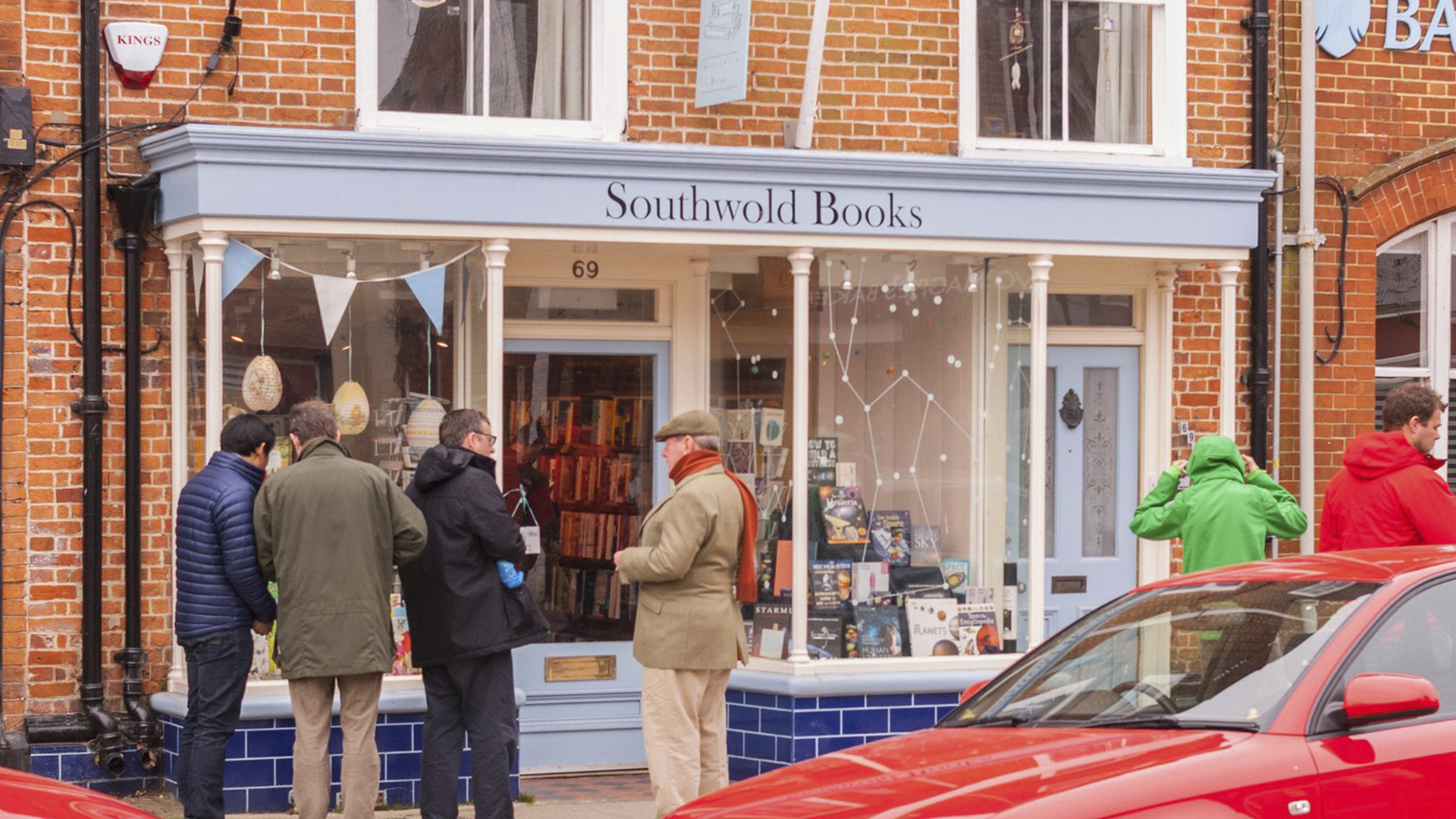 Southwold Books is actually a branch of Waterstones. Photo: Alamy Stock Photo