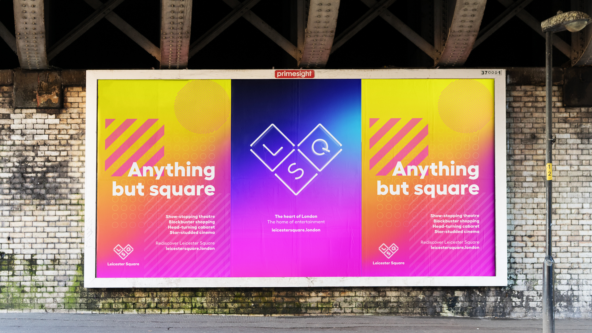 Leicester Square Branding
