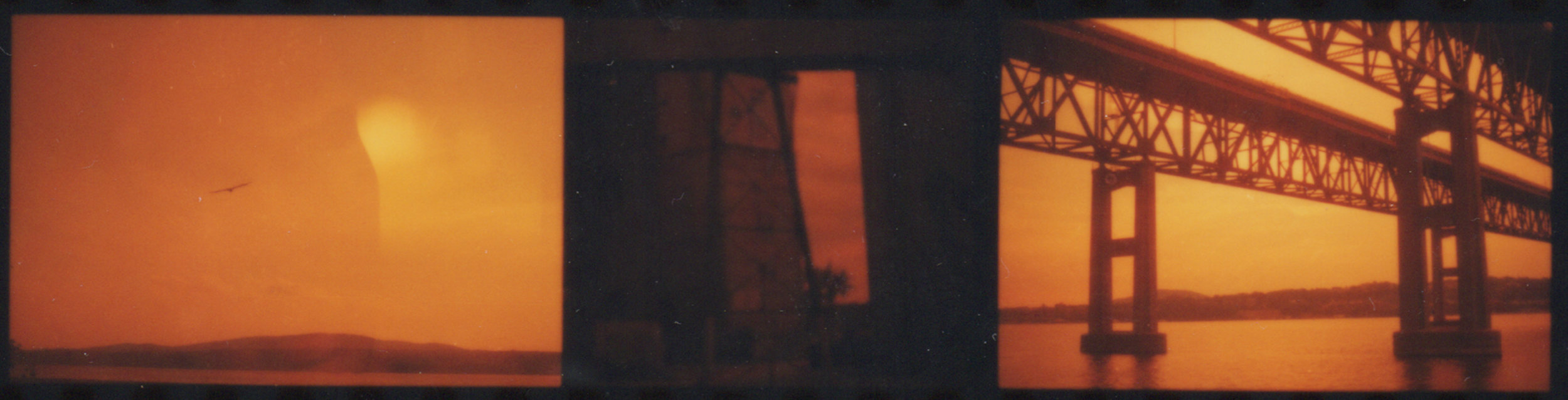 35mm red-scale negative