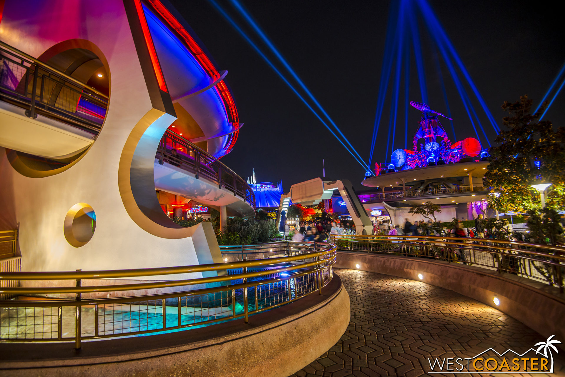 """Occupying the renamed """"Tomorrowland Expo Center"""" (formerly Innoventions), the Launch Bay is basically a big museum exhibit to things Star Wars."""