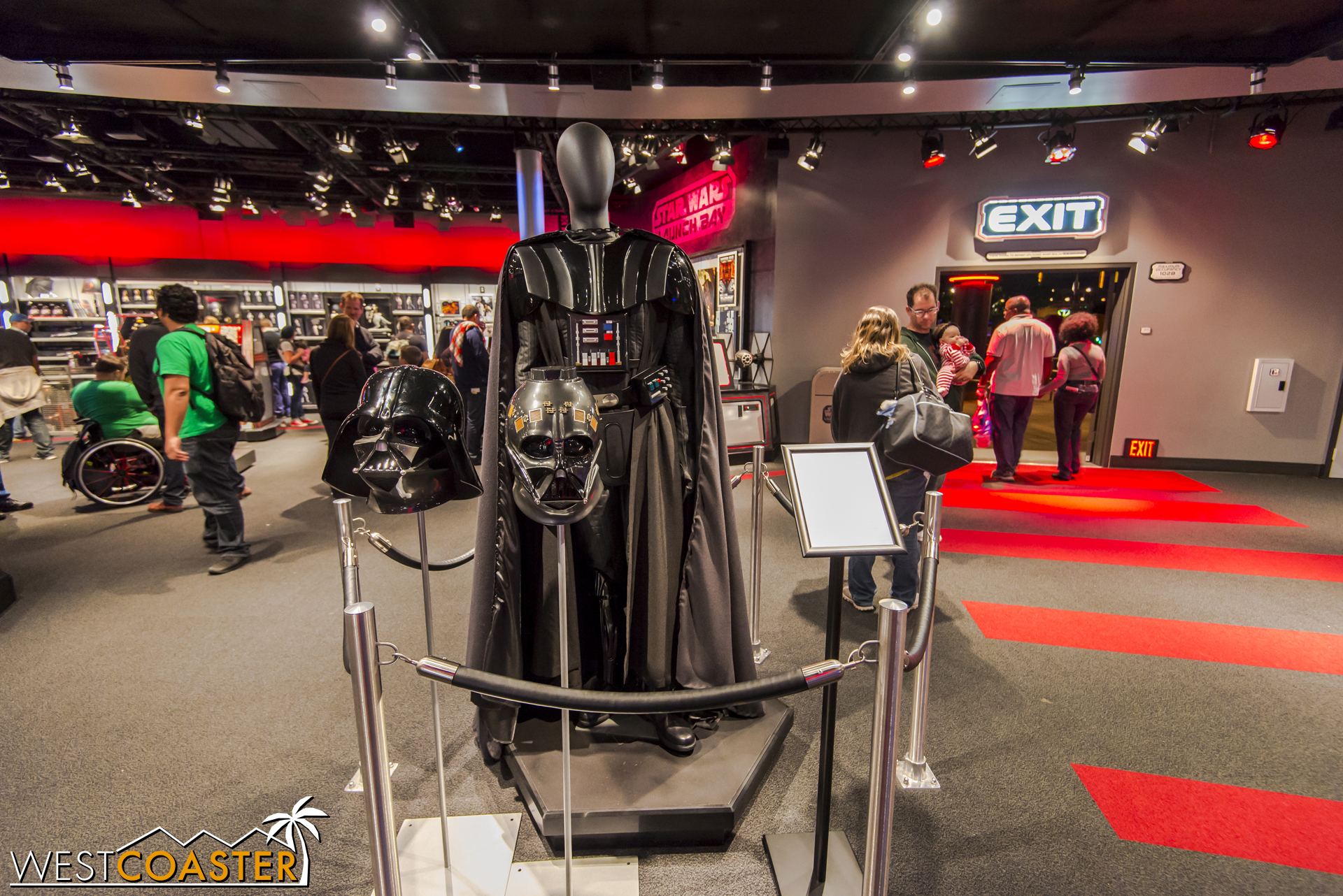 Full sized Darth Vader suit is awesome too.