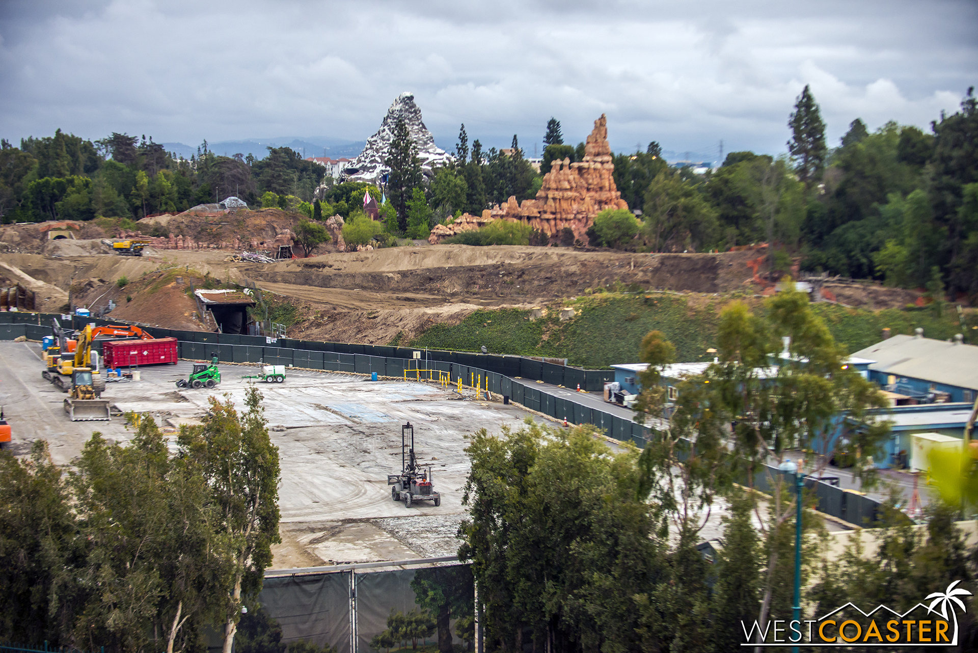 Moving to the area of the former Big Thunder Ranch.