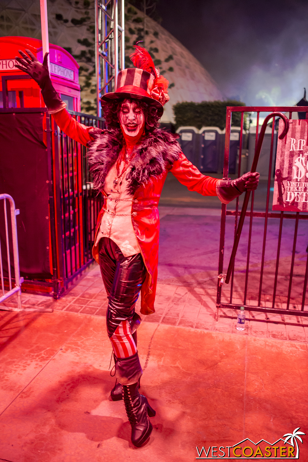 Fan favorite The Ringmaster returns for another year of scares and debauchery.