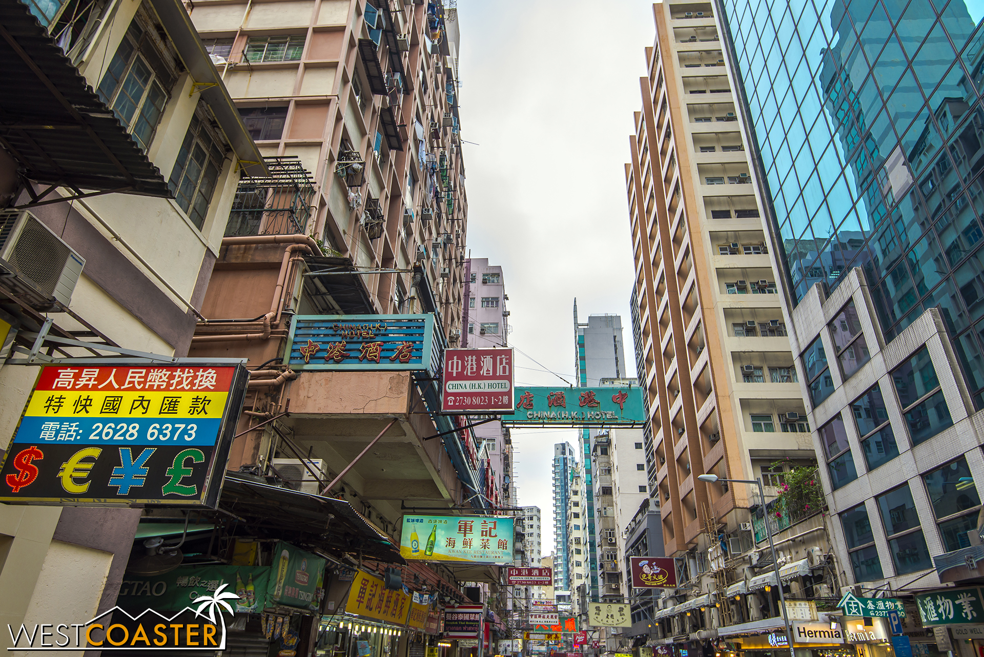 Kowloon provides a sense of the old city. Well, not super old, but older than Hong Kong Island.