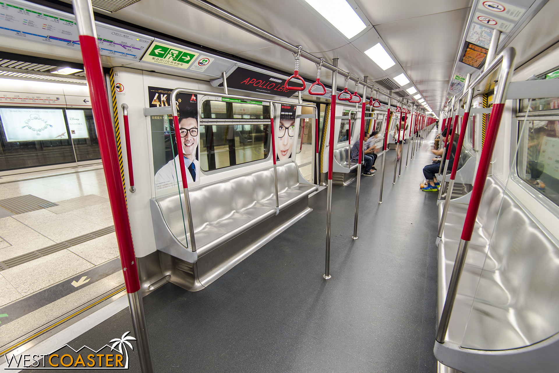 The Hong Kong MTR is one of the world's leading light rail systems.
