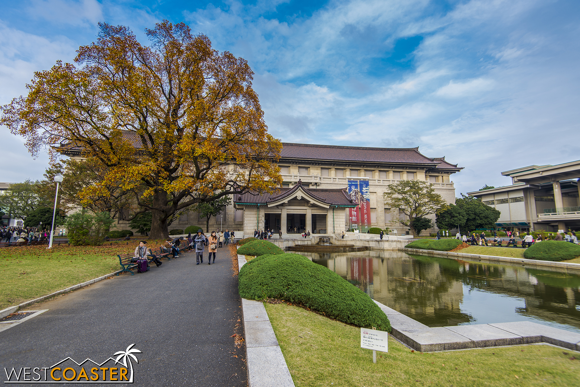 The Tokyo National Museum, in the Ueno museum complex, houses a treasure trove of culture, history, and artifacts.