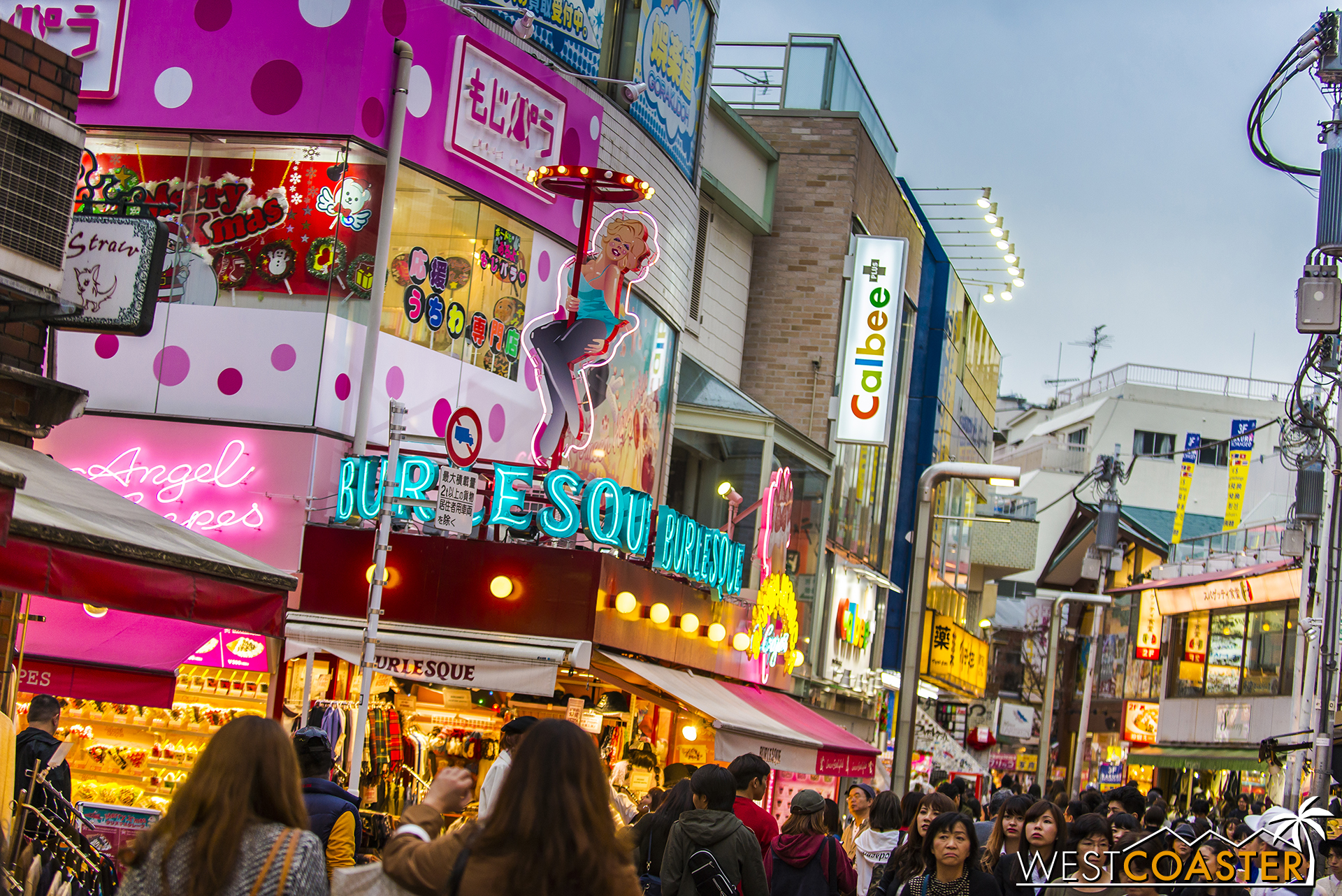 Takeshita Street offers lots of eclectic merchandise and sweet snacks.